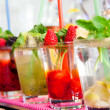 Refreshing cocktail — Stock Photo