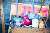 Farbe-container — Stockfoto