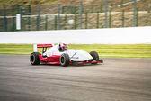 Race car on track — Stock Photo
