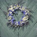 Wreath of flowers — Stock Photo #50900631