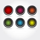 Button, design elements — Stock Vector