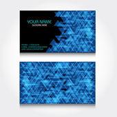 Modern Business-Card Set — Stock Vector