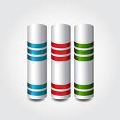 インフォ グラフィック デザイン要素 — ストックベクタ