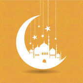 Vintage Ramadan Kareem background — Stock Vector