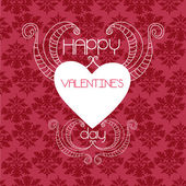 Happy valentines day and weeding cards — 图库矢量图片