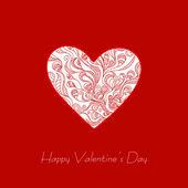 Happy ημέρα του αγίου βαλεντίνου και βοτάνισμα κάρτες — Διανυσματικό Αρχείο