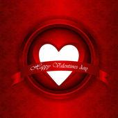 Szczęśliwy Walentynki karty — Wektor stockowy