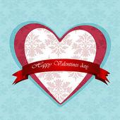 Feliz día de san valentín tarjetas — Vector de stock