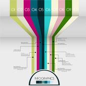 Modern design template, abstract background design — Stock Vector