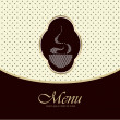 Stock Vector: Restaurant menu vector design template