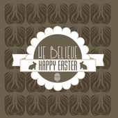 Happy easter cards — Stok Vektör