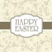 Happy easter cards — Vector de stock