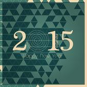 2015 european year calendar — Stock Vector