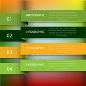 Modern Design template can be used for infographics — Stock Vector