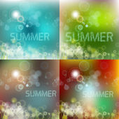 Soft colored abstract background design, Summer — Stock Vector