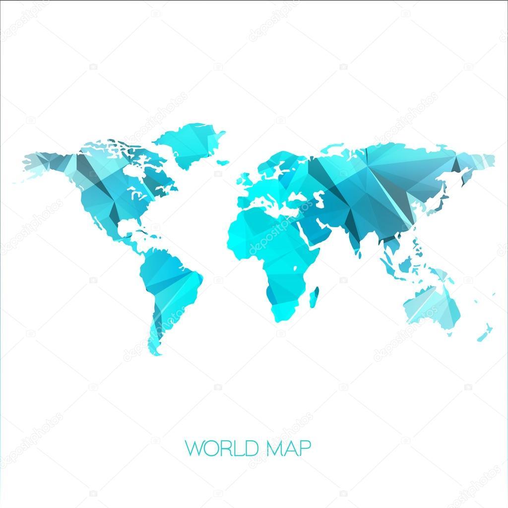 世界地图图 — 矢量图片作者