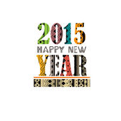 2015 Happy NewYear — Stock Vector