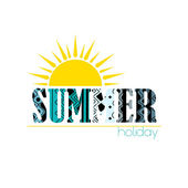 Summer Party background — Stock Vector