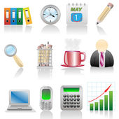 Icon set-Business — Stock Vector