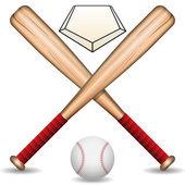 Бейсбол — Cтоковый вектор