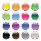 Buttons — Stock Vector