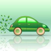 Eco-car — Stock Vector