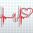 Stock Vector: Heartbeat