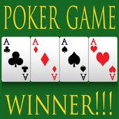 Poker — Stock Vector