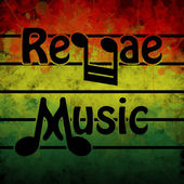 Reggae Music — Stock Vector