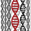 DNA background — Stock Vector