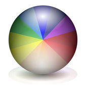 Colorful ball — Stock Vector