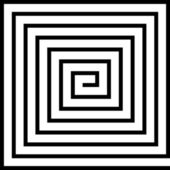 Labyrinth — Vector de stock
