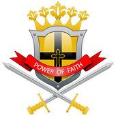 Power of faith — Stock Vector