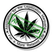 Approve marijuana — Stock Vector