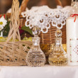 Altar in Catholic Church during the Ceremony of First Communion — Stock Photo #36032729