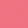 Table cloth seamless pattern red — Stock Vector