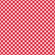Stock Vector: Table cloth seamless pattern red