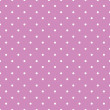 Pink background polka fabric with white little dots seamless pat — Stock Vector #47253673