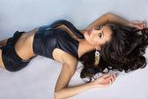 Beautiful brunette sexy woman. — Stock Photo