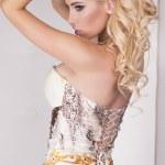 Sexy blonde woman posing — Stock Photo #46172419