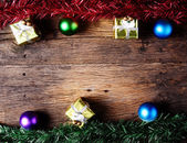 Christmas decoration with presents — Stock Photo
