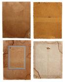 Starý papír textury pozadí — Stock fotografie