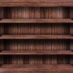 Empty wood shelf — Stock Photo #36627441