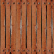 Stock Photo: Rows of wood wall