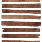 dřevěné prkenné izolovaných na bílém pozadí — Stock fotografie #36639315