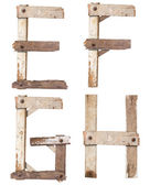 Wooden Alphabet — Stock fotografie