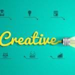 Vector creative concept with light bulb idea — Vettoriale Stock