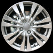 Stock Photo: Car alloy wheel