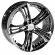 Stock Photo: Car alloy rim on white background