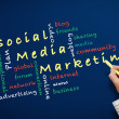 Social media marketing concept — Stock Photo #41896383